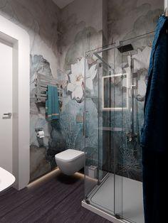 Apartment design projects home decor 28 Ideas Apartment Bathroom Design, Washroom Design, Bathroom Interior Design, Home Interior, Bad Inspiration, Bathroom Inspiration, Interior Design Inspiration, Beautiful Bathrooms, Modern Bathroom