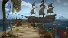 Sea of Thieves Concept Art