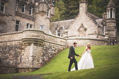 Stunning Fairytale wedding at Kinnettles Castle in Scotland