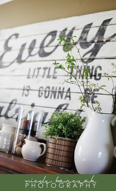 Wall Art: Every Little Thing Is Gonna Be Alright