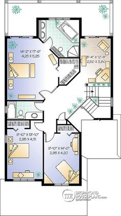 ansley ii floor plan | ccb house plans | pinterest | bungalow