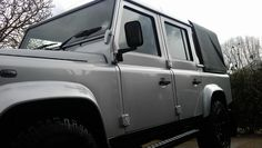 Valeting  again in Cheltenham,Full Paint  protection and interior protection on Land Rover 110 @Kleen Machine  www.kleenmachine.org