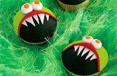 Monster birthday cupcakes - Kids' birthday cake ideas