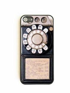 Vintage Payphone - iPhone 5 Case