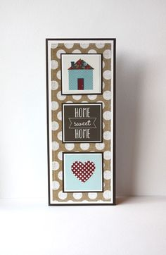 New Home Handmade Card by SusanTracie on Etsy