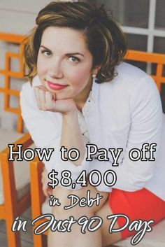 How to Pay off $8,400 in Debt in Just 90 Days #debt Get out of Debt Debt Free