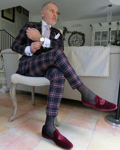 Bespoke suit by @Skabo, Slippers by @finsbury_shoes, watch by @tighestimepieces . Use the code SUITED15 and you will get 15% discount on your watch in www.tighettimepieses.com