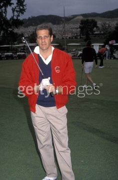 Picture of Musician Glenn Frey of The Eagles attending Benefit Golf Tournament on May 10 1990 at Calabasas Country Club in Calabasas California. History Of The Eagles, Calabasas California, Glenn Frey, Benefit, Golf, Band, People, Sash, People Illustration