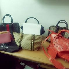 Brand Auctioned Overrun Preloved items.  Authenticate at your own risk! Gucci, Celine, Balenciaga, YSL, Channel, Burberry Bags Crossbody Bags