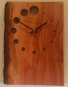 Wood Framed Mirror, Diy Clock, Mantle Clock, Wood Clocks, Woodworking Projects Plans, Texture Design, Wood Crafts, Wood Projects, Diy Furniture