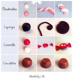 BlackBetty'sLab: Tutorial caramelle in pasta di zucchero !
