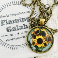 Van Gogh Sunflowers  @theflaming_galah #theflaming_galah #vangoghjewelry #vangoghsunflowers #sunflowers #sunflowerpendant #sunflowerkeyring #sunflowerjewelry #sunflowerjewellery #etsysunflowers #handmadesydney #handmadejewelry #handmadejewellery #etsychristmas #etsychristmasgifts #coolstuff #freeshipping #etsyaus #australiajewellery #etsyauseller #etsygifts #etsysecretsanta #secretsanta #stockingfillers #giftsforher #giftsforwomen #giftideas #handmadependant #handmadekeyring #internationalshipping #madeinaustralia