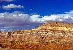 This is the painted desert in AZ and yes it really looks like this!