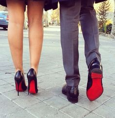 #Louboutin #Forher #Forhim Being able to: Treat us both to nice shoes