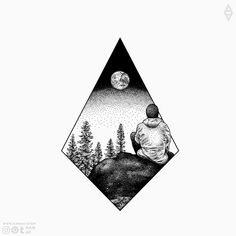 All tattoo illustrations Dotwork nature travel tattoo design - FREE design, you can downl Free Tattoo Designs, Unique Tattoo Designs, Tattoo Sleeve Designs, Sleeve Tattoos, Nature Tattoos, Body Art Tattoos, Hand Tattoos, Small Tattoos, Illustration Tattoo
