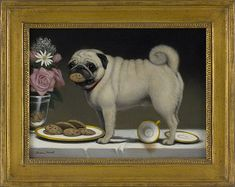 Playful Pug Painting - just love it!!