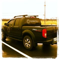Northridge Defense Truck Nissan Frontier Off Road Vehicle Wrap Black Bed Liner Painted Emblems Nissan 4x4, Nissan Trucks, Nissan Navara, Suv Trucks, Navara Tuning, Bed Liner Paint, Navara D40, Executive Protection, Nissan Pathfinder