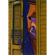Werner Berg Mann im Coupe 1956 Berg, Expressionism, Austria, Tall Cabinet Storage, Home Decor, Woodblock Print, Art Pieces, Landscape, Painting Art