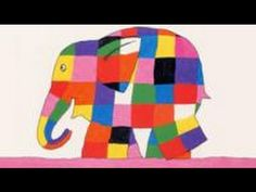 Elmer, every child's favorite patchwork elephant, introduces toddlers to colors.Elmer the elephant is bright-colored patchwork all over. Elmer The Elephants, Colorful Elephant, Album Jeunesse, Preschool Lesson Plans, Preschool Activities, Kid Character, Colour Board, Childrens Books, Toddler Books