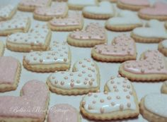 Bella's Rose Cottage: Fancy Iced Cookies, the Easy Way... again!