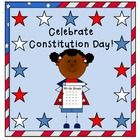 Constitution Day! September 17 is Constitution Day!  Congress has passed a law requiring that all public schools teach about the U.S. Constitution on this day.  So n...