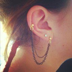 Homemade earrings