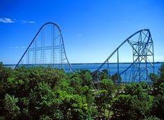 Millenium Force, Cedar Point, Sandusky, Ohio, United States