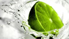 Fresh Green Splash wallpaperia.com