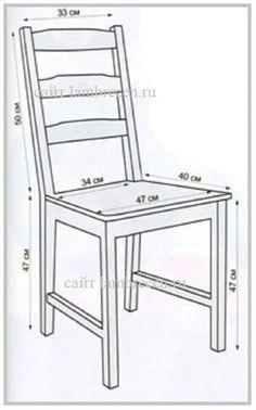 Medidas cadeiras