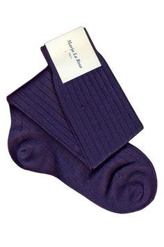 Knee socks 100% wool