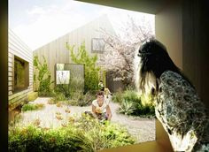 The power of gardening to heal the body - this is a cancer counseling center at Næstved hospital in Denmark.