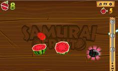 Demuestra que eres un gran samurai destruyendo todas las frutas http://mundobanana.com/Samurai-fruits-10006481.html
