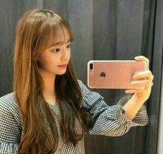 Chuu - Loona pré debut Kpop Girl Groups, Korean Girl Groups, Kpop Girls, Chuu Loona, Song Recommendations, Olivia Hye, Sooyoung, Peach Colors, Ulzzang Girl