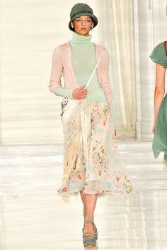 Ralph Lauren spring 2012, great bag