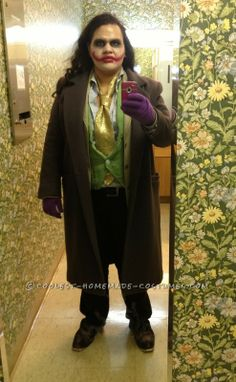 Cool Homemade Thrift Store Joker Costume ...