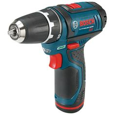 Cordless Drill - $149.00 // the whole Bosch 12-Volt series comes highly recommended by a woodworker we know. Batteries last forever, and drill is super-compact and powerful.