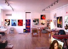 Art Studio Design In Basement | Art Studio Design Ideas With Decorating  Beautiful / Pictures Photos