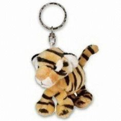 Keychain, Measures 8cm, Available in Various Colors and Designs