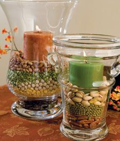 Fall candle ideas.