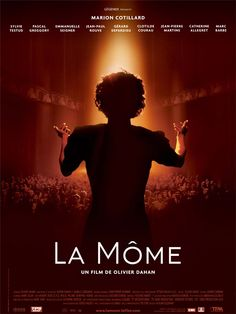 """The Life of Edith Piaf. Starring by Marion Cotillard And winner of the Oscar by """"Best Actress"""" for This film. Marion Cotillard, Film Movie, Film Biographique, Cinema Paradisio, Jean Paul Rouve, Film Mythique, Constantin Film, Films Cinema, Movies And Series"""