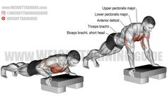 Best chest exercises for lower and upper chest | Weight Training Guide Best Chest Workout, Chest Workouts, Gym Workouts, Chest Exercises, Trap Bar Deadlift, Inverted Row, Dumbbell Fly, Farmers Walk, Weight Training Workouts
