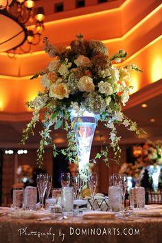 @Jim Dalsimer and his team at @Dalsimer Atlas Florists & Event Decorators (www.DominoArts.com) lighting matters