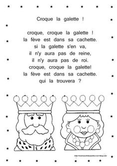 """""""illustrated rhyme crunches the cake"""": Petite Section, French Lessons, Saint Valentine, Teaching French, Teacher Hacks, Learn French, Preschool Activities, Education, Reading"""