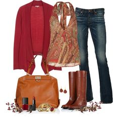"""Autumn Palette"" by archimedes16 on Polyvore"