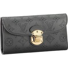 Fashion Style,Louis Vuitton Mahina Leather Amelia Wallet M58127 Bcc-182