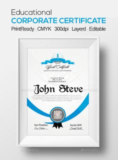 Certificate Template - Certificate Template PSD. Download here: http://graphicriver.net/item/certificate-template/13341007?s_rank=136&ref=yinkira