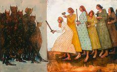 Caitlin Connolly: Creative Enthusiast | The Krakens: A Digital Gallery of Mormon Art