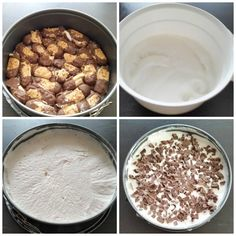 Recept: IJstaart Sweet Desserts, No Bake Desserts, Sweet Recipes, Dessert Recipes, Sweet Pie, Something Sweet, Ice Cream Recipes, Cream Cake, Cakes And More