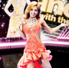 Hyoyeon SNSD Girls' Generation Dancing with the Stars GIF