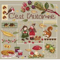 Madame La Fée - fiche - C'est l'automne